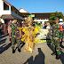 Meriahkan Bulan Suci Ramadhan, Babinsa Kelurahan Danukusuman Ikuti Parade Tarhib Inilah Tujuannnya