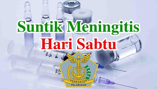 Alamat Tempat Suntik Vaksin Meningitis di Hari Sabtu
