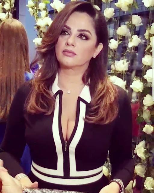باسكال مشعلاني تلهب قلوب محبيها على انستقرام بفستان جرئ.. صورة