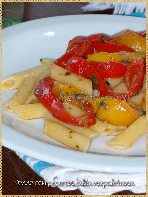 Penne con peperoni alla napoletana