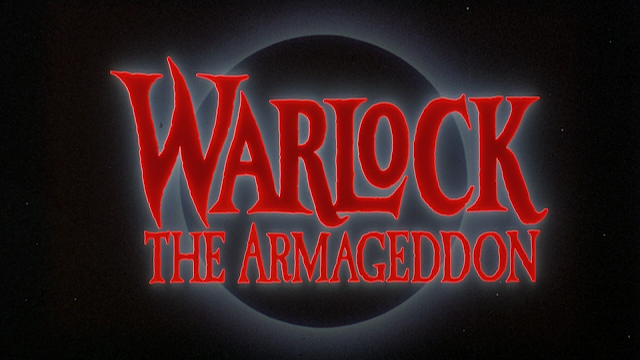 Warlock: The Armageddon Title Card