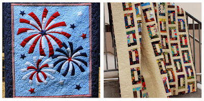 Fireworks and Slots quilts