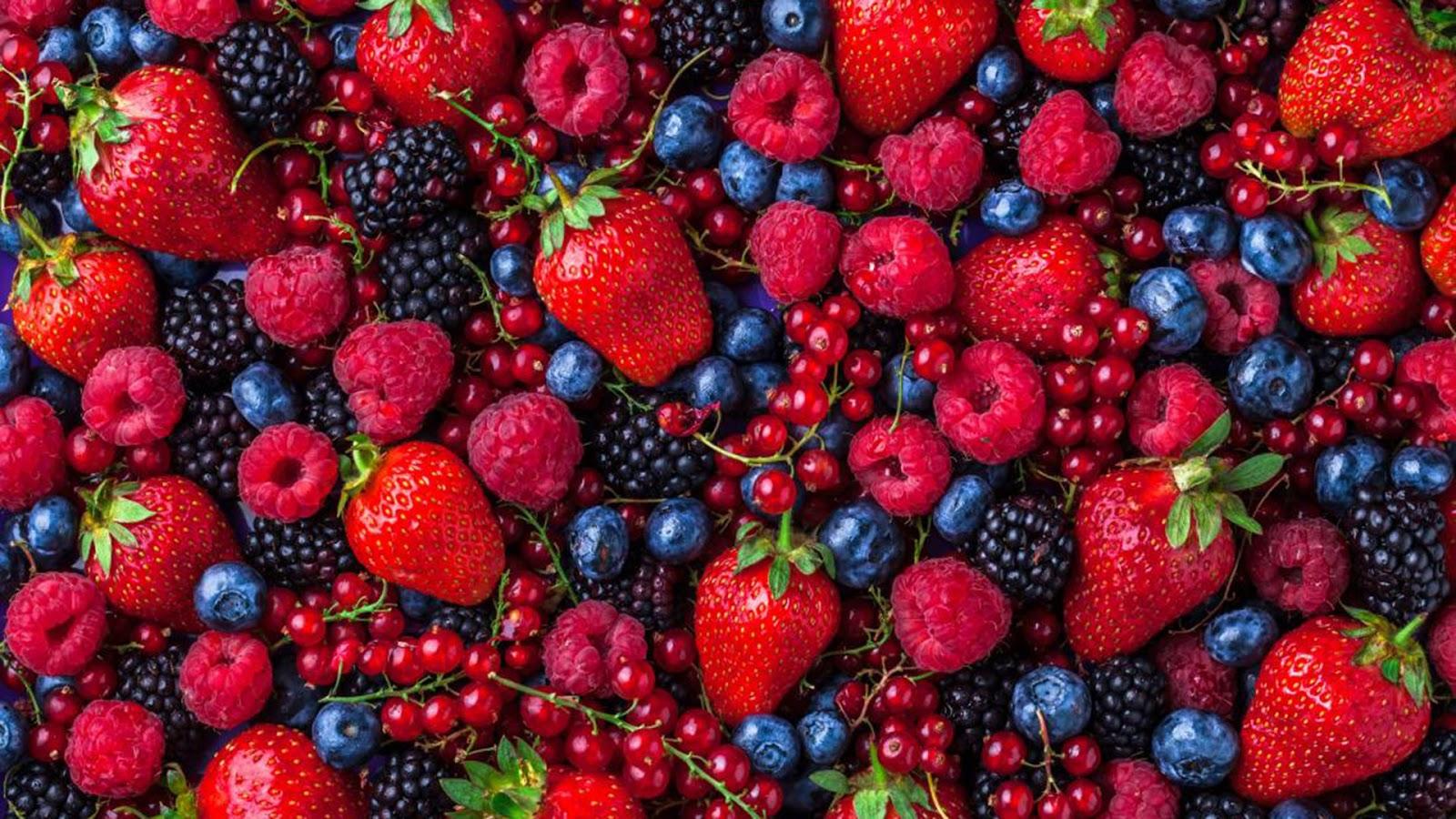 buah berry sehat untuk mata