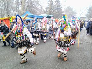 Kukeri, Festival, Climax, Yambol, Bulgaria,