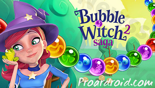 لعبة Bubble Witch 2 Saga Apk v1.91.0.1 مهكرة للاندرويد (اخر اصدار) logo