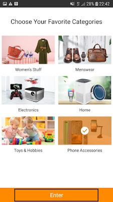 belnaja gratis di Aplikasi GearBest