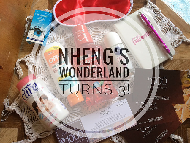 Nheng's Wonderland Turns 3!