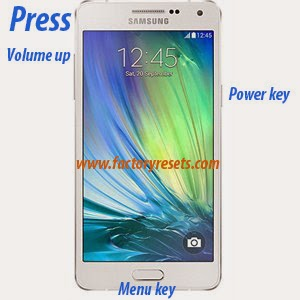 Hard Reset Samsung Galaxy A5 or A5 Duos