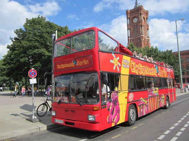 Tour em Ônibus de dois andares em Berlim