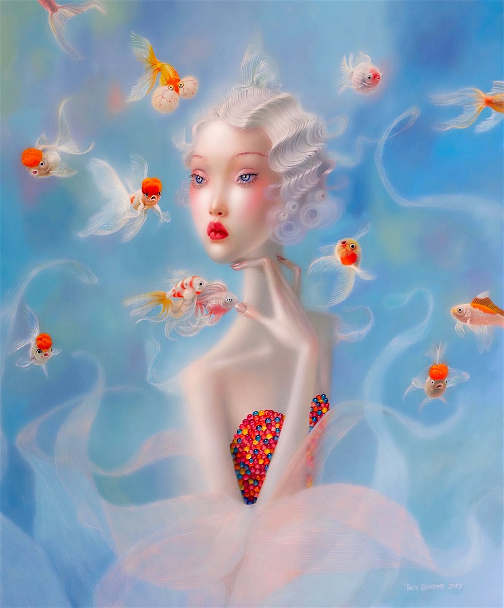 Troy Brooks | Pintor pop-surrealismo