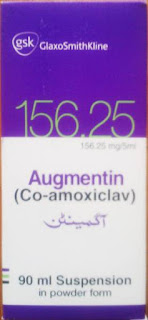 augmentin 156.2mg suspension