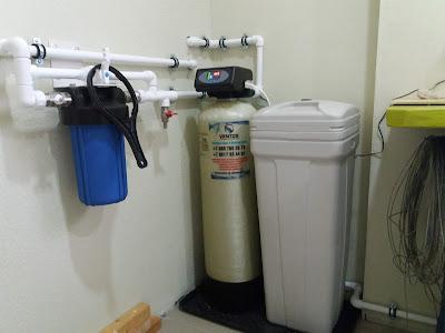 Система по очистке воды в Новороссийске в сборе