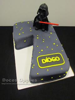 O Darth Vader no 7º aniversário do Diogo