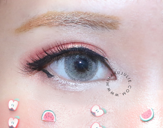 i.Fairy Nobluk Grey Circle Lens review