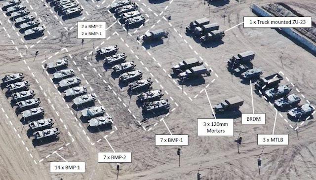 153 танка боевиков на территории Донбасса