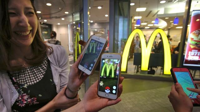 Após acordo comercial entre o restaurante fast food e a Nintendo, as vendas do McDonalds aumentaram.