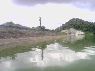 muro represa el Pao