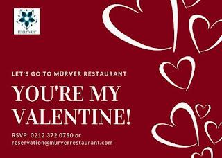 mürver restaurant menüsü sevgililer günü 14 şubat programı