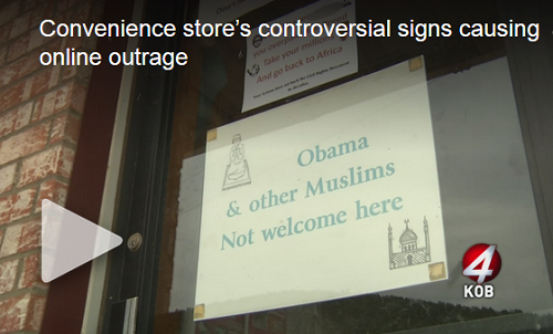 mayhill muslim New mexico convenience store draws backlash for the mayhill convenience store he would only be in trouble if he acted on the sign by actually denying a muslim.