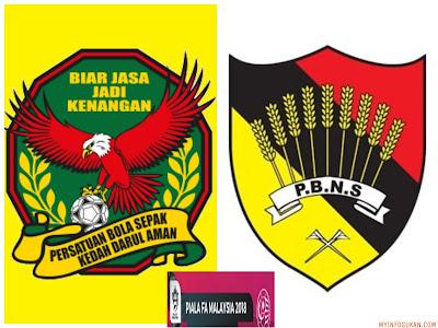 Live Streaming Kedah vs Negeri Sembilan Piala FA Malaysia 2 Mac 2018