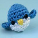 patron gratis pajaro amigurumi | free pattern amigurumi bird
