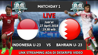 Timnas Indonesia U-23 Akan Di Hadang Oleh Pemain Berkelas Yakni Bahrain U-23