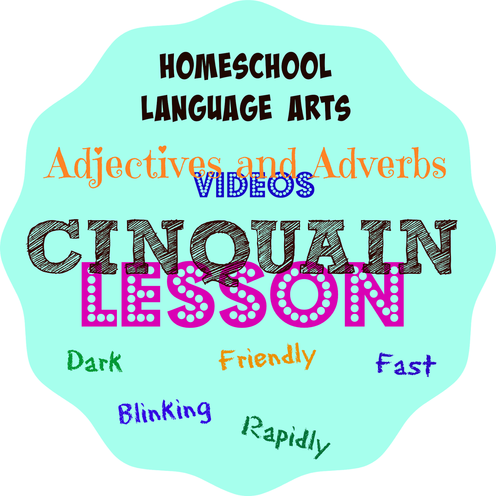Cinquain Poetry: Fun Adjective and Adverb Video Lessons and Online Activities
