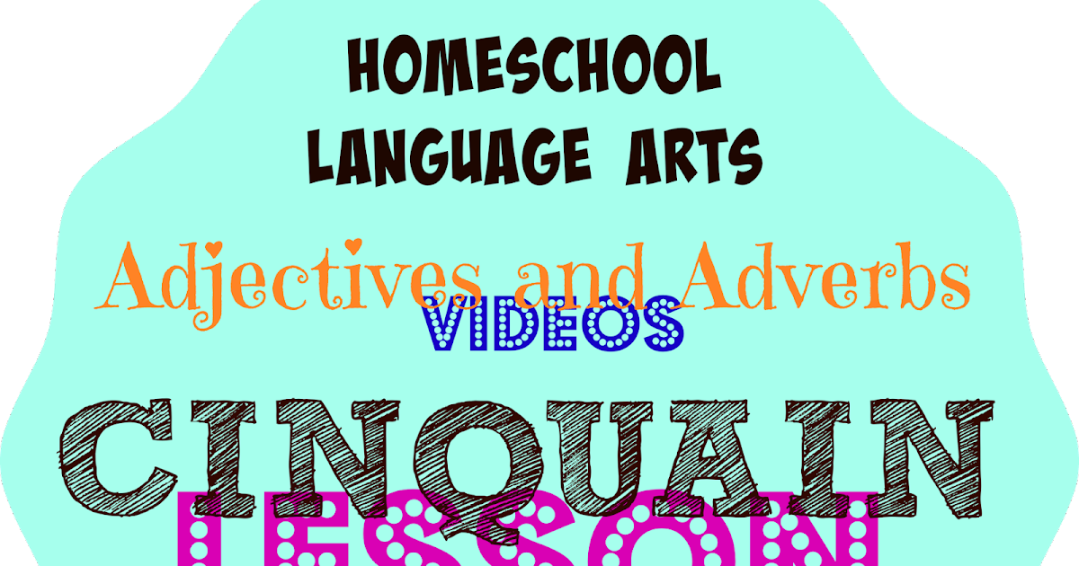 Cinquain Poetry Fun Adjective And Adverb Video Lessons And Online