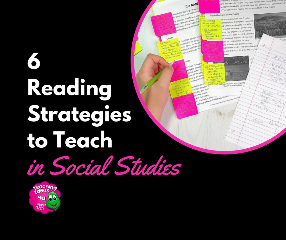 6 Reading Strategies You Need to Teach Social Studies - Teaching