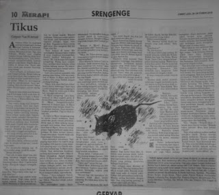 cerpen koran Merapi