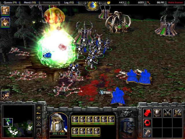 Link tải game Warcraft 3 1 24e 787MB - full dota dday custom map