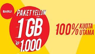 Kode Paket Internet Murah Indosat 1GB Hanya Rp 1000