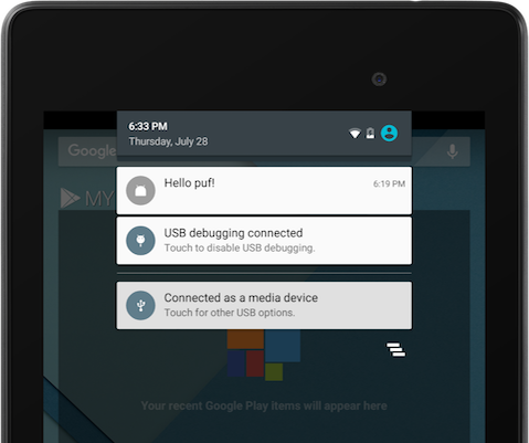 The Firebase Blog: Sending notifications between Android