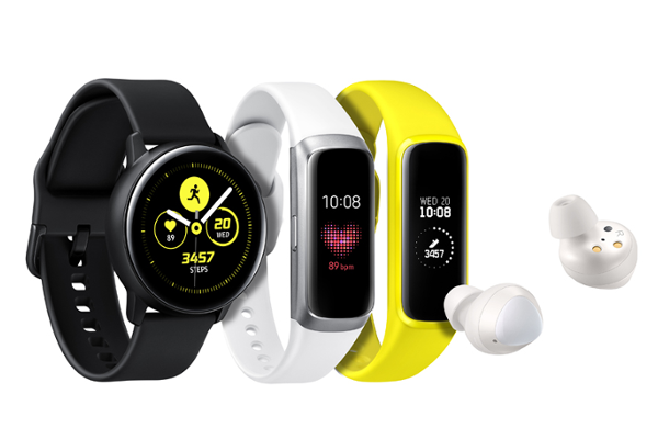 SAMSUNG launches Galaxy Watch Active, Galaxy FitGalaxy Fit e and Galaxy Buds
