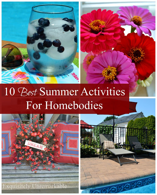 stay at home summer ideas