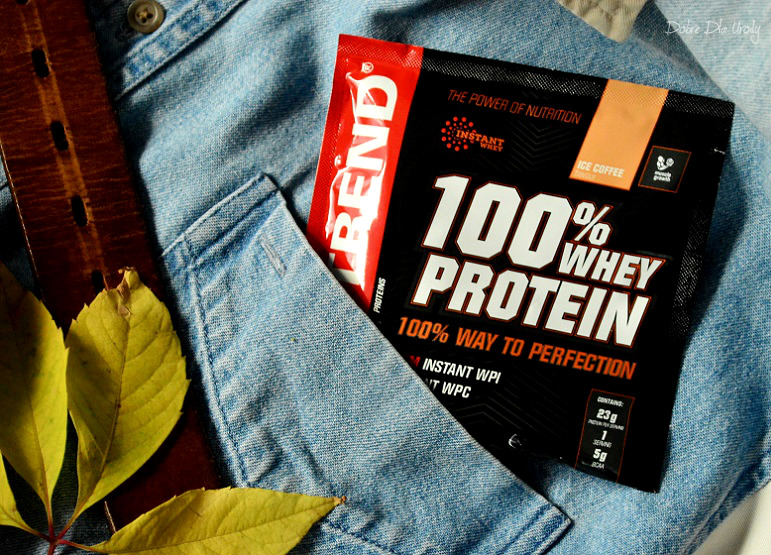 ShinyBox MBOX It's a man's world - Nutrend 100% whey protein