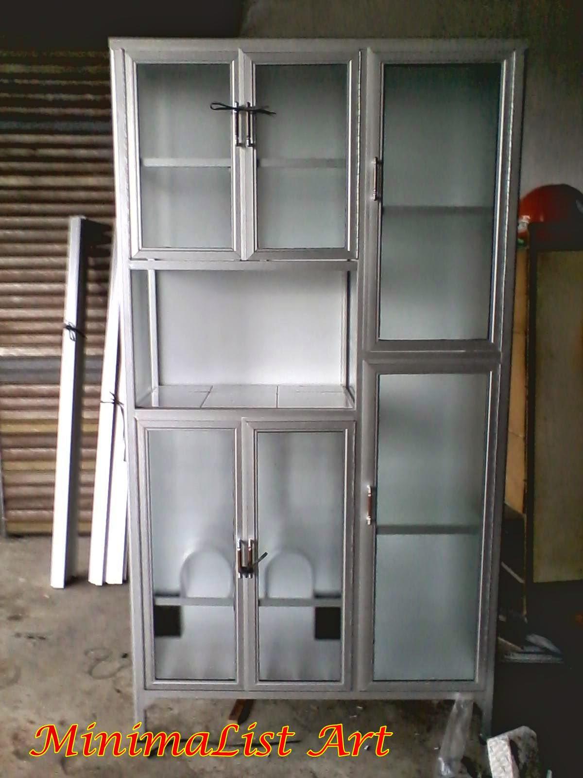 gambar jenis baja ringan rak piring aluminium minimalis   minimalist art
