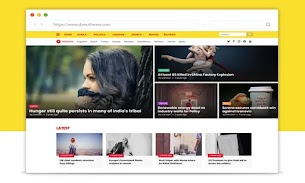 Trends Magazine Blogger Template - Responsive Blogger Template