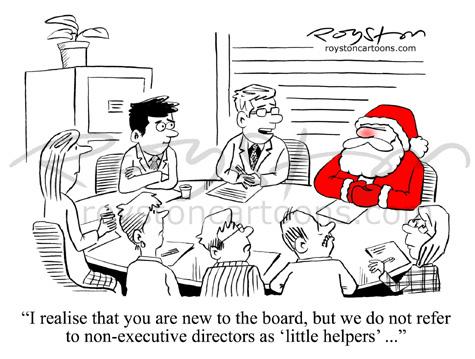 Royston Cartoons: Cartoon advent calendar:Day 7. Board silly