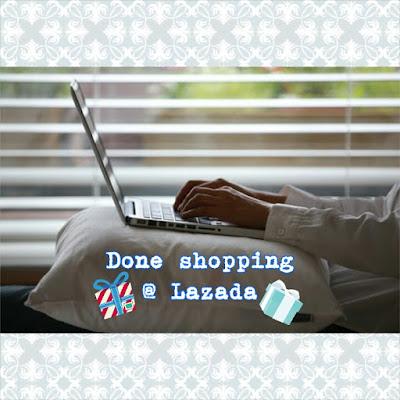 Selesai shopping di Lazada menggunakan voucher kemenangan Lazada Ramadhan blogger contest