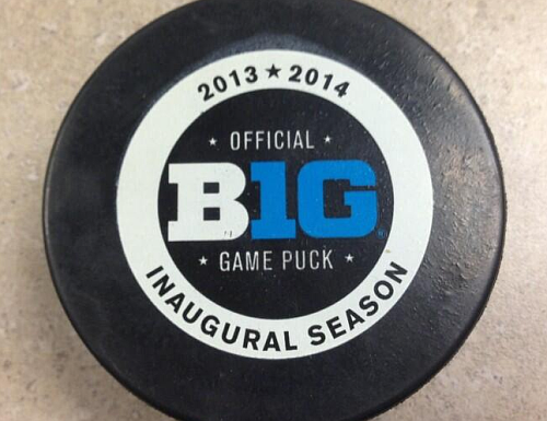 Thank You Terry  Big Ten Game Puck Unveiled f143cae01