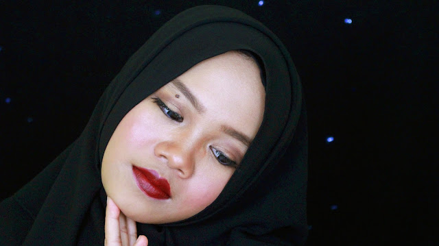 wardah intense matte lipstick lady burgundy