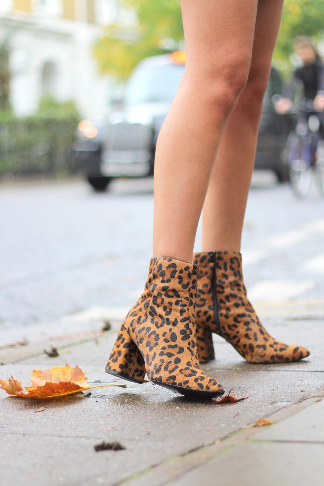 peexo blog ankle boots leopard print