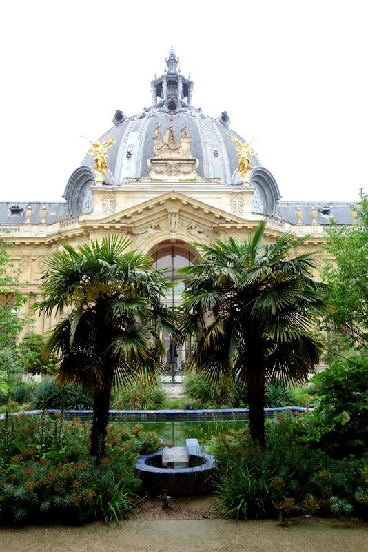 Paris le jardin du petit palais les charmes exotiques d for Jardin gratuit paris
