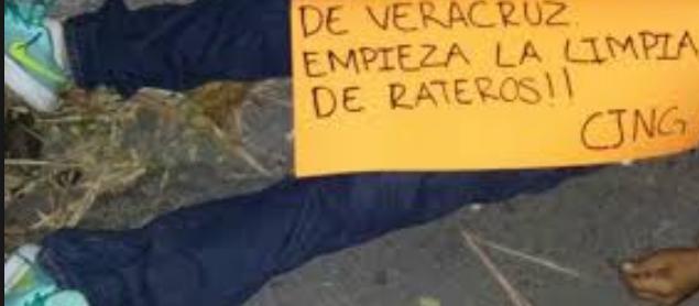 """Ciudadanos de Tuxpan Veracruz suplican por ayuda a El CJNG para """"ajustificar"""" a violadores de una niña"""
