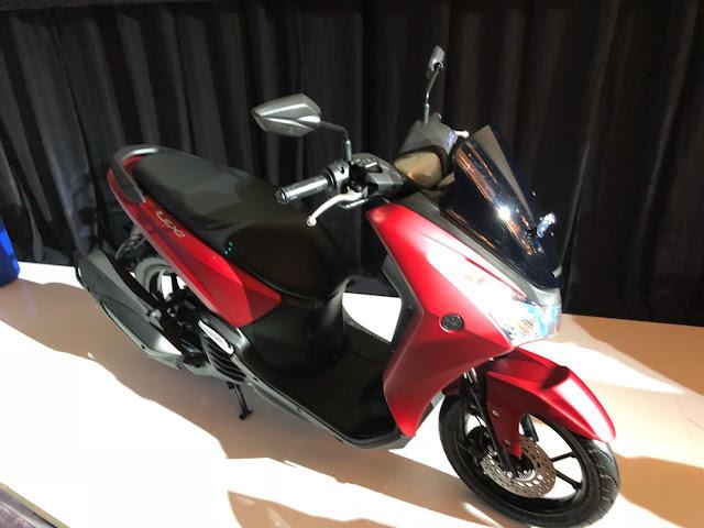 spesifikasi Yamaha Lexi 125 VVA Bluecore