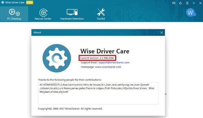 Wise Driver Care Pro 2.1 Key Serial