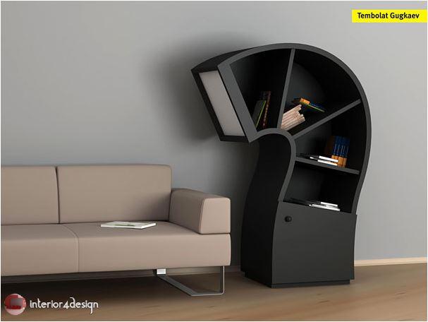70 Best Bookshelf Designs 46
