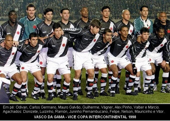 A Paixão Pelo Esporte Vasco Vice Campeão Mundial 1998