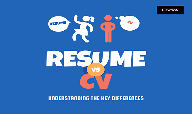 Spot the Difference: CV Vs Resumé
